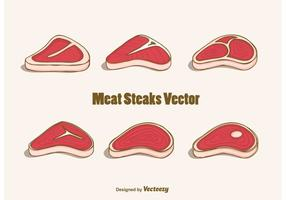 Gratis Vlees Steaks Vector
