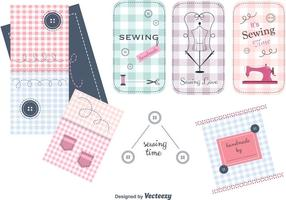 Free Sewing Vector Items Set