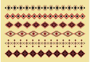 Native American Pattern Vektoren