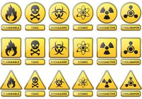 Förebyggande och försiktighet Vector tecken