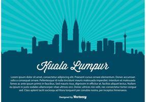 Illustration de Kuala Lumpur Skyline