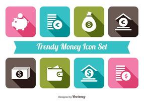 Trendiga Monet Icon Set
