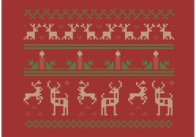 Ensemble de Noël Cross Stitch