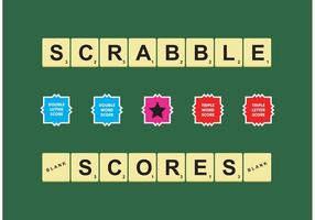 Scrabble Scores Vector