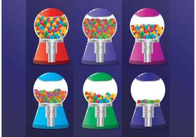 Bubblegum Machine Vectors