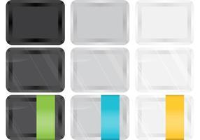 Plastikfutter-Behälter-Vektoren