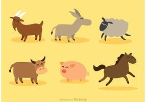Conjunto de vetores de mamíferos