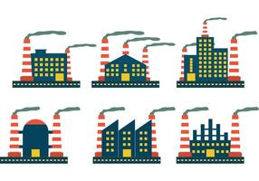 Factory Icon Vectors