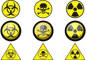 Signo de vectores de veneno
