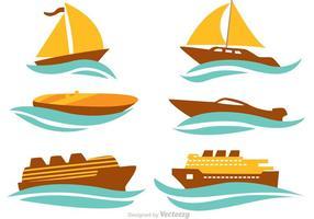 Ship Vector Set