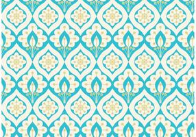 Vector Abstract Peacock Seamless Pattern