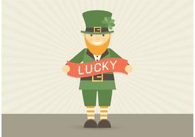 Free Leprechaun Character Vector