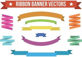 Ribbon Banner Vectoren