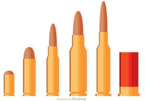 Vectores de balas