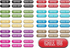 Call Us Now Large Vector Buttons