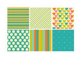 Geometrische kinderachtige patronen