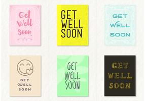 Get Well Soon Card Vectors