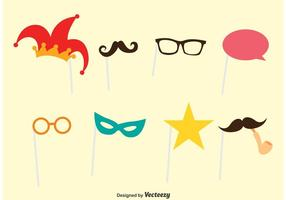 Photobooth Party Vector Set