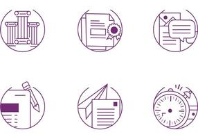Communication Icon Vector Set