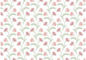 Wildflower repeat pattern