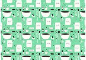 Cookie Recipe Vector Pattern