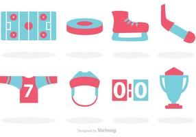 Hockey Vector Icons