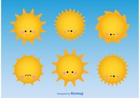 Netter Sonne Charakter