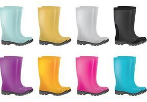 Regen-Stiefel-Vektoren
