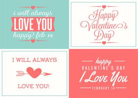 Leuke Love Label Set vector