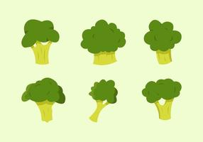 Broccoli Vector Illustrationer Gratis
