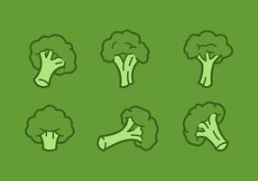 Uitgelichte Broccoli Vector Illustraties