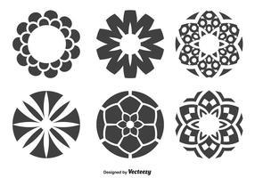 Formes de cercle décoratif