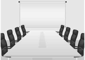 Vector de sala de reuniões