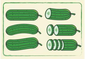 Komkommersvectoren
