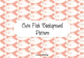 Cute Fish Pattern Background