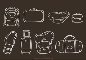 Hand Drawn Bag Vectors