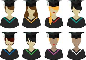 Vector Graduate People Pack
