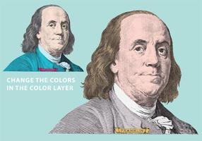 Ben Franklin Vektor