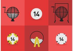 Vector Lotto Balls