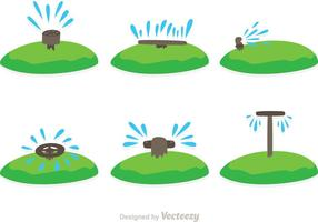 Water Sprinkler Vectors