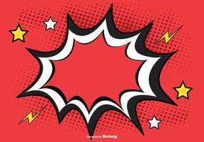 Comic Style Background Illustration vector