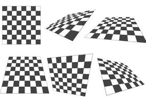 Checker board vectoren