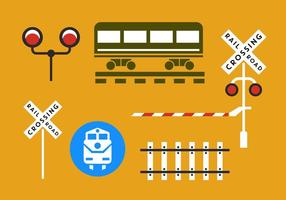 Railroad Vector Elements