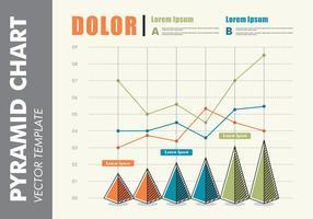 Pyramid Chart Presentation Vector Free