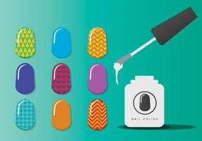 Manicure Nagelvectoren
