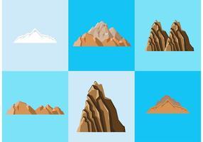 Denver Mountains Vectors