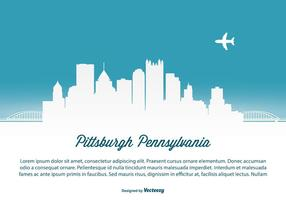 De illustratie van de Horizon van Pittsburgh