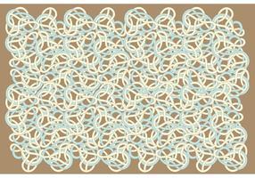 Vetor de fundo do padrão de redemoinho abstrato