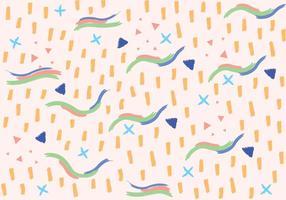 Zusammenfassung Pinsel Hintergrund Vektor