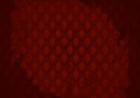 Rödbrun bakgrundsmönstervektor